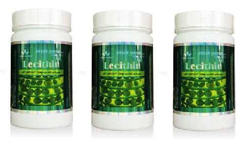 Green World Lecithin Softgel