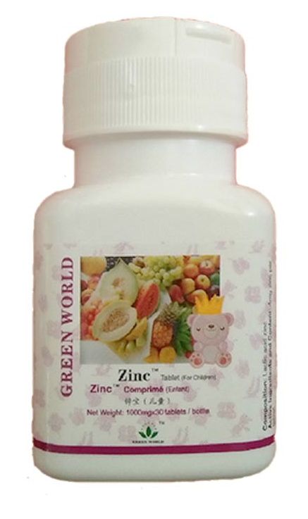 Zinc Tablet Green World