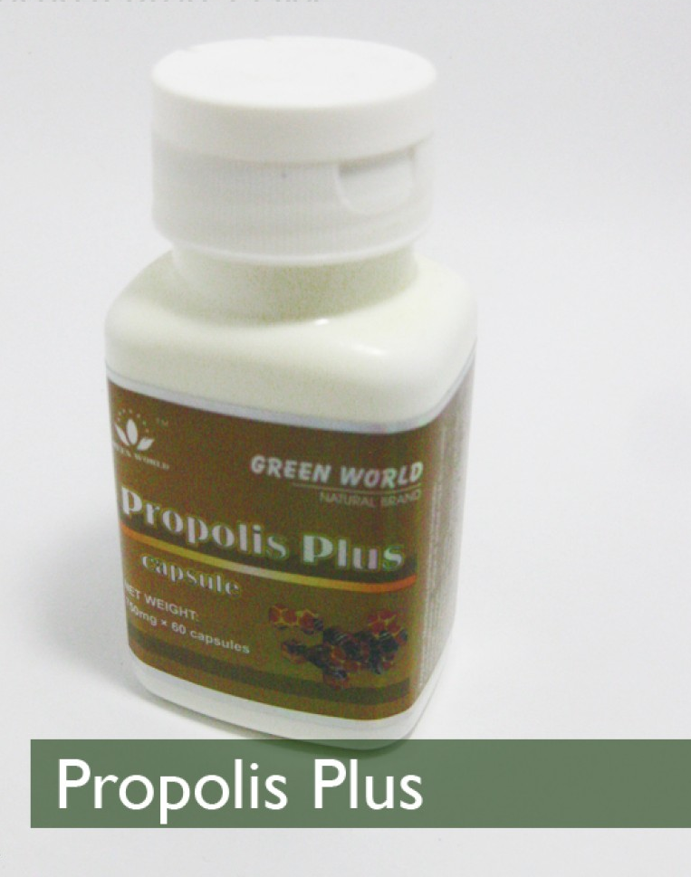 propolis plus capsule green world