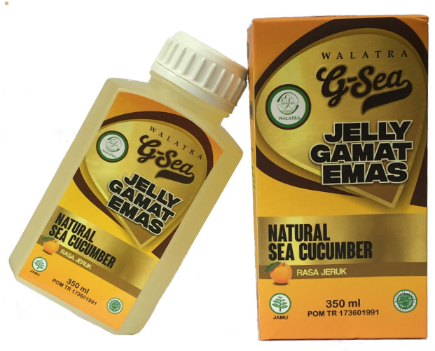 Harga Jelly Gamat Walatra ( G-Sea Jelly ) Rasa Jeruk